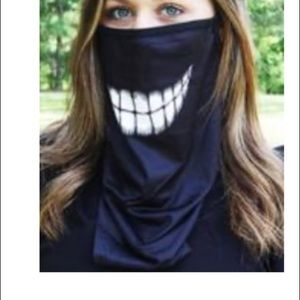 Accessories - New! Cheshire cat neck gaiter w/ear loops